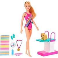 Boneca Barbie Dreamhouse Adventures Nadadora Com Acessórios - Feminino-Colorido