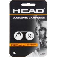 Antivibrador Head Djokovic Dampner Branco - 02 Unidades - Unissex