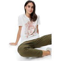 T Shirt Silk Creativity Off White - Pp