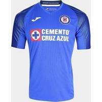 Camisa Cruz Azul Home 19/20 S/Nº Torcedor Joma Masculina - Masculino