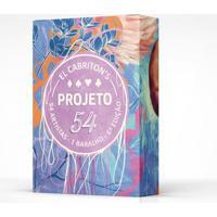 Baralho Projeto 54 - 6A Edição-Off White-U