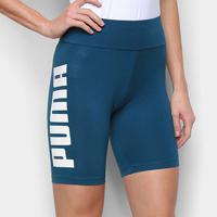 "Short Puma Rebel 7"" Tight Feminino - Feminino-Verde Escuro"