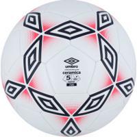 Bola De Futebol De Campo Umbro Cerâmica 2.0 Club - Branco Azul Esc bff3a95a631cb