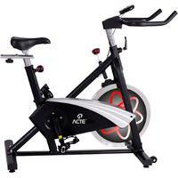 Bicicleta Para Spinning Acte Pro E27 Preto E Vermelho