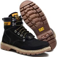 Bota Caterpillar Men´S Original Coturno Preto - 20554