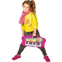 Teclado Musical Com Mp3 Player - Barbie - Teclado Fabuloso - Fun