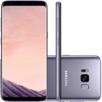 "Smartphone Samsung Galaxy S8 Ametista 5.8"" Câmera De 12Mp 64Gb Octa C"