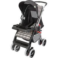 Carrinho Bebê Berço Reversível Thor Tutti Baby Preto Preto