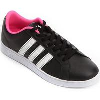 Tênis Adidas Vs Advantage Feminino - Feminino-Preto