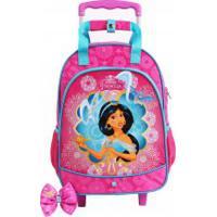 Mochila De Rodinhas Princesas Disney Jasmine
