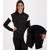 Agasalho Puma Classic Tricot Suit Op Feminino - Feminino