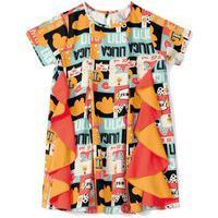 Vestido Lilica Ripilica Infantil - 10111608I Laranja
