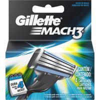 Carga Gillette Mach3 - Com 4