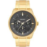 Relógio Orient Mgssm026 G1Kx Masculino - Masculino-Dourado