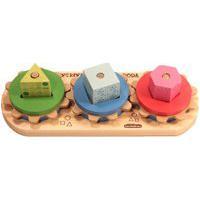 Brinquedo Carimbrás Engrena Roda Multicolorido