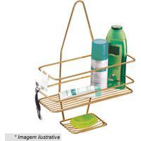 Suporte Para Shampoo & Sabonete- Cobre- 39X28,5X11Cmfuture