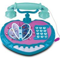 Telefone Educativo - Disney Frozen - Verde E Rosa - Disney