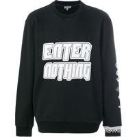 Lanvin Moletom 'Enter Nothing' - Preto