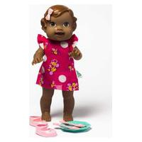 Boneca Babys Collection Papinha Negra - Super Toys