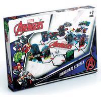 Jogo De Tabuleiro - Identidade Secreta - Disney - Marvel - Avengers - Grow