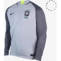 8f8d08d761 Camisa De Goleiro Nike Brasil 2018 19 Torcedor Masculina