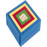 Caixas Coloridas Em Mdf Com 5 Peças - Carlu