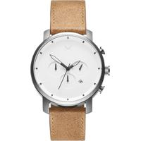 Relógio Mvmt Masculino Couro Marrom - D-Mc01Wt