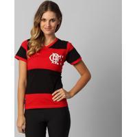 Camiseta Flamengo Zico Retrô Feminina - Feminino