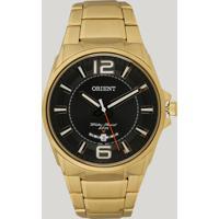 Relógio Analógico Orient Masculino - Mgss1157 P2Kx Dourado - Único