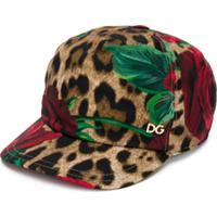 Dolce   Gabbana Kids Boné Com Estampa - Neutro bbb5387d56