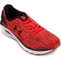 Tênis Under Armour Charged Carbon Masculino - Masculino-Vermelho+Preto
