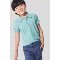 Camisa Polo Infantil Básica Cores Reserva Mini Masculina - Masculino