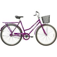 Bicicleta Mega Bike Lady Mary Aro 26 Freio Contra Pedal Quadro Aço - Unissex