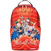 Sprayground Mochila Looney Tunes - Laranja