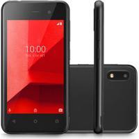 Smartphone Multilaser E Lite 3G 16Gb Tela 4.0 Quad Core Câmera Traseira 5Mp + 5Mp Frontal Preto - P9099 P9099