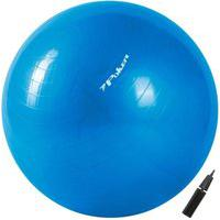 Bola De Pilates Suiça Gym Ball Com Bomba De Ar 75Cm 09094-Az, Cor: Azul, Tamanho: Único