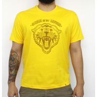 Satan Is My Motor - Camiseta Clássica Masculina