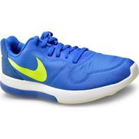 Tenis Masc Nike 844857-470 Md Runner 2 Lw Shoe Azul/Limao