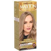 Tintura Creme Maxton 10.1 Louro Cinza Claríssimo Com 1 Unidade 1 Unidade