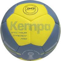 Bola De Handebol Profissional Kempa Spectrum Synergy Pro - Pu - Unissex-Amarelo+Azul
