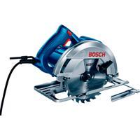 """Serra Circular Bosch Gks150, 7.¼"""", 1500 Watts, Com Bolsa - 110 Volts"""
