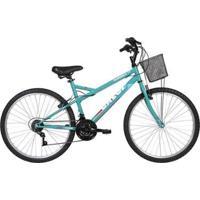 Bicicleta Caloi Florença Aro 26 Cesto Freio V Brake - Unissex