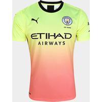 Camisa Manchester City Third 19/20 S/N° Torcedor Puma Masculina - Masculino