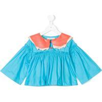 Raspberry Plum Blusa 'Kiss' - Azul