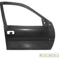 Folha De Porta - Original Chevrolet - Vectra - 1997 Até 2005 - Para Pintar - Lado Do Passageiro - Cada (Unidade) - 93243766