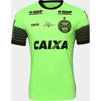 Camisa Goleiro Coritiba 2018 S/N° C/ Patrocínio - Jogador 1909 Masculina - Masculino