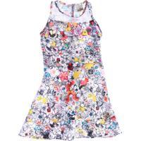 Vestido Infantil Estampa Floral Marisa