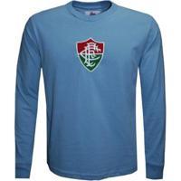 Camisa Liga Retrô Fluminense 1959 Goleiro Manga Longa Masculina - Masculino