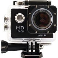 Câmera De Ação Action Cam Full Hd 1080P Wi-Fi Preto