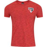 Camiseta Do São Paulo 18 Tricolor - Masculina - Vermelho